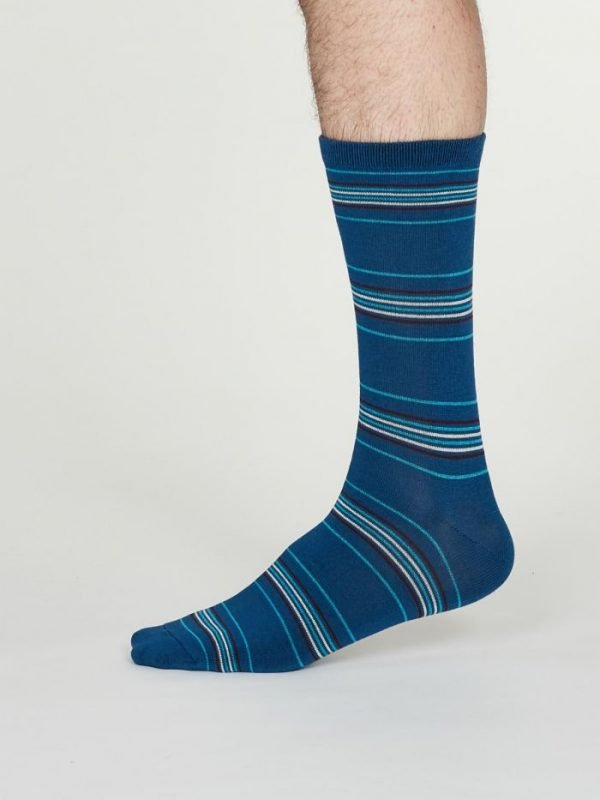 Nicolson calza uomo cobalt blue